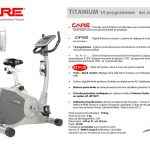 Velo d appartement care fitness