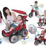 Tricycle evolutif des 6 mois