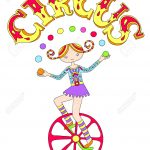 Jongleur sur monocycle