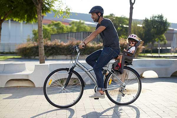 Porte Bebe Velo Electrique Le Vélo En Image - Vélo porte bébé