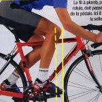 Recul selle velo route