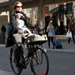 Vélo avec bébé