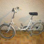 Vélo pliant peugeot