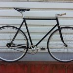 Fixie guidon droit
