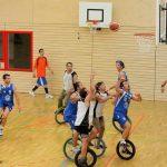 Monocycle basket