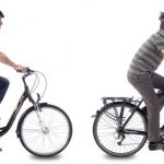 Vélo guidon haut