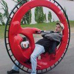 Monocycle moteur